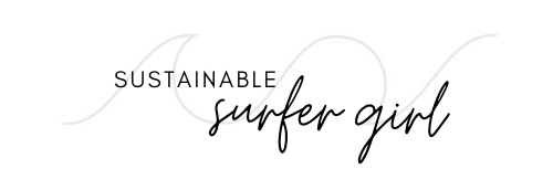 Sustainable Surfer Girl